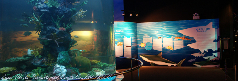 cylindrical @Nakornsawan Aquarium Project